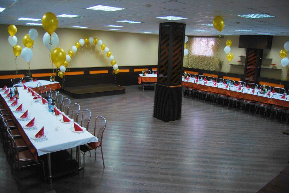 Большой зал для проведения банкетов